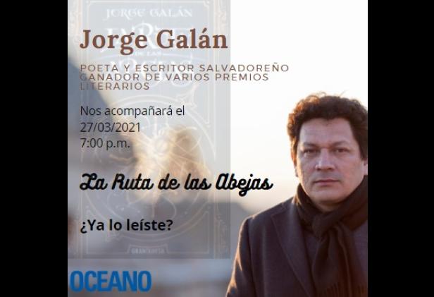 CONVERSATORIO Jorge Galán – La Ruta de las Abejas