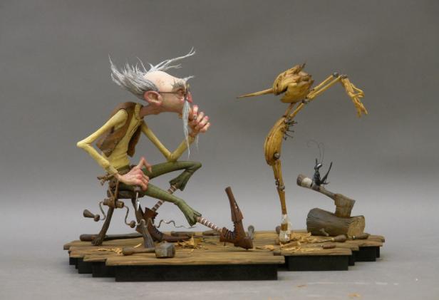 Pinocho de Gribaudo – Película musical en stop motion.